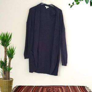 BP | Black Knit Cardigan Sweater Size Medium